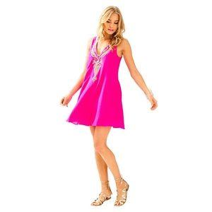 Lilly Pulitzer Owen Silk Trapeze Dress